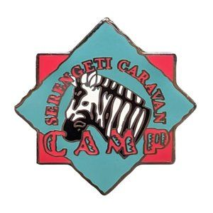Animal Kingdom Pin: Serengeti Caravan Camp Zebra